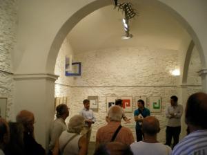 Joan Borrell, Roger Zamorano, Ricard Planas i Huc Malla durant la presentació.
